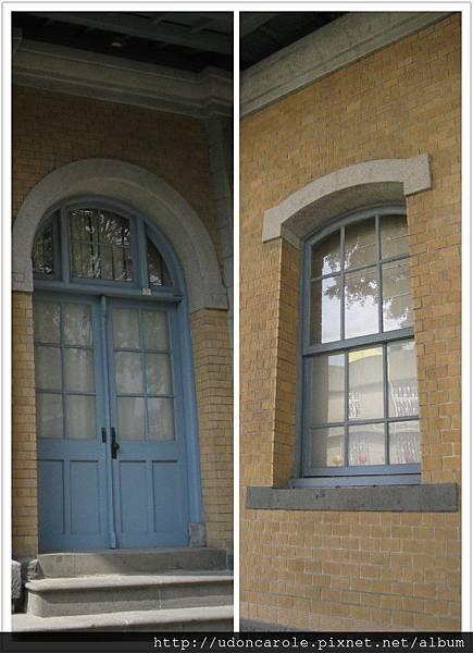 門與窗的拱形不一樣一圓一方