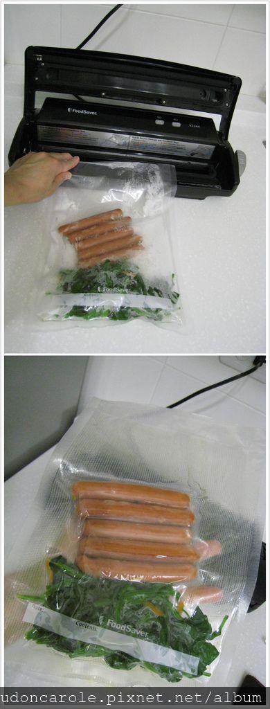 熟食一起包裝下次一起隔水加熱就可以吃囉