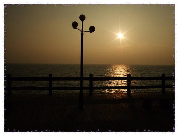 漁人碼頭夕陽
