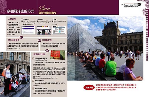 羅浮宮4 參觀方法與步驟