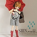 [re-ment] 鞋組 一代:雨傘+耳罩+包包+雨鞋