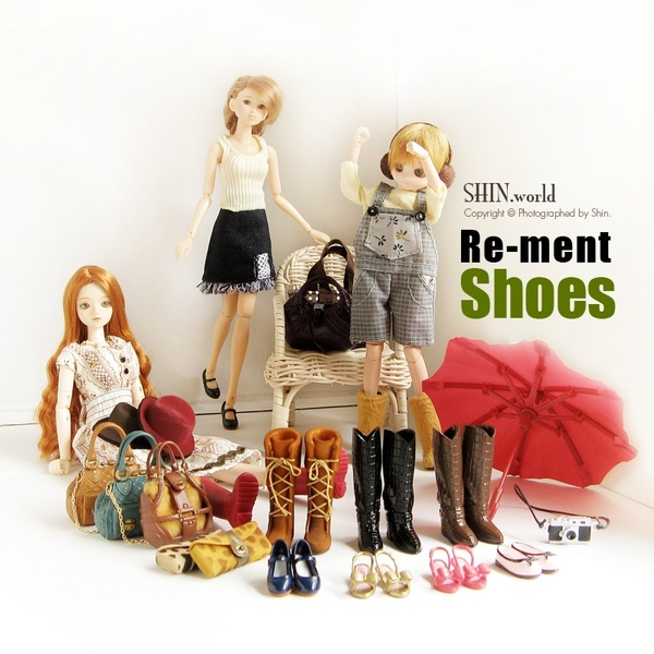 [re-ment] 鞋組 一代:全部
