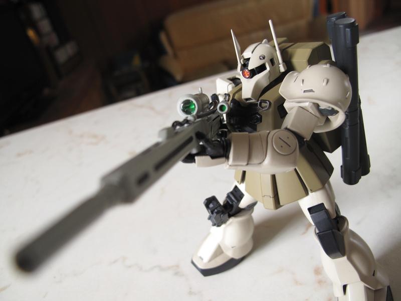 HGUC Zaku I Sniper (Yonem K.)