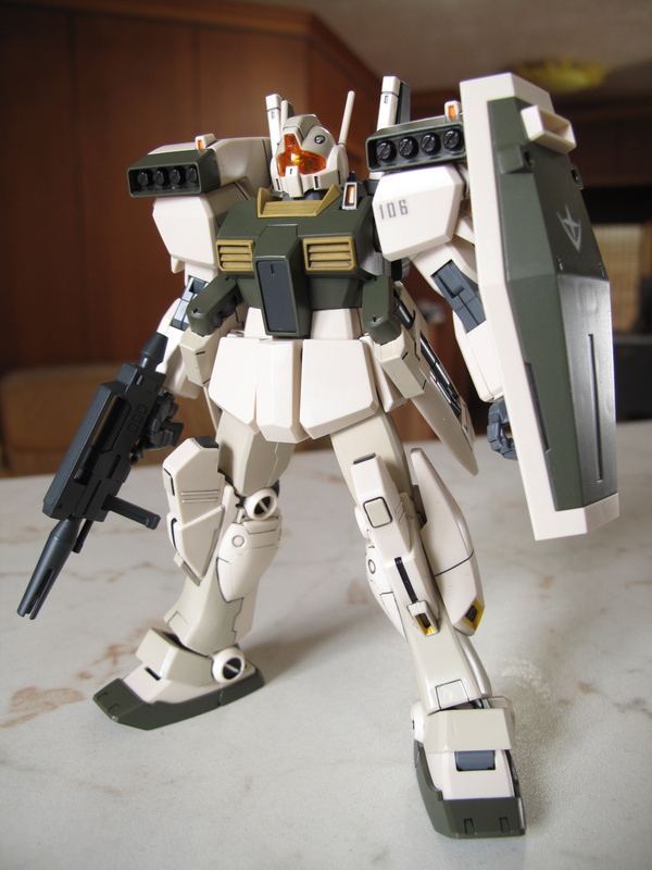 HGUC GM III (Desert color)