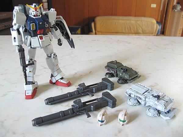 HGUC 08MS小隊 地上戰set
