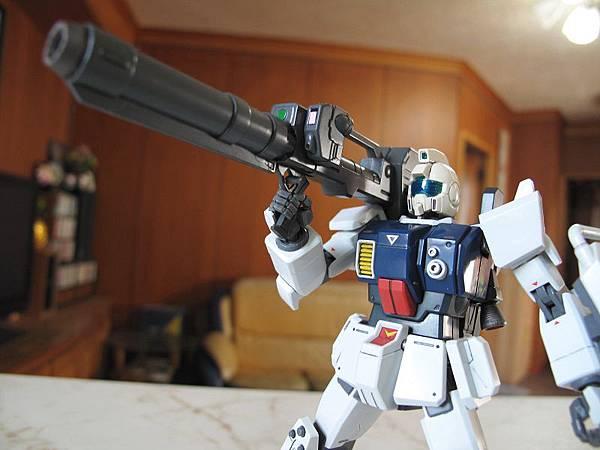 HGUC 陸戰型 Gundam (GM head)
