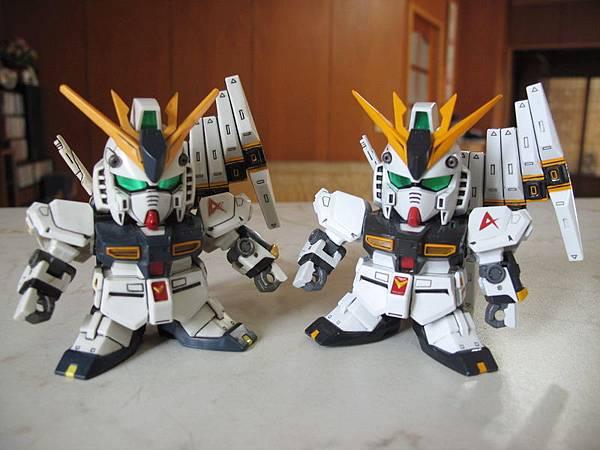 BB ν Gundam (HWS仕樣)