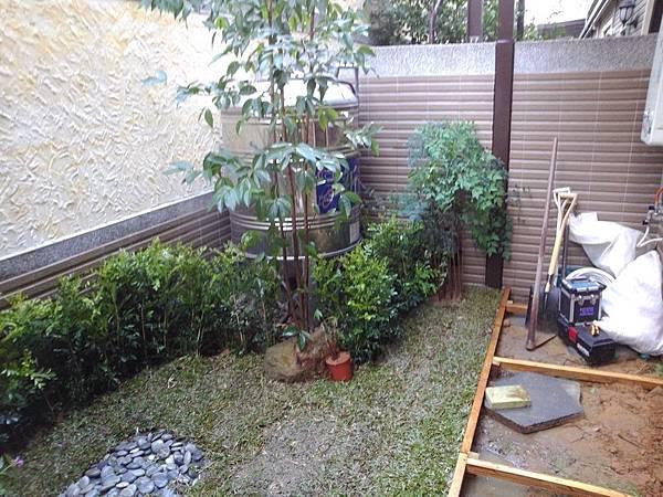 1021207楊梅校前路-庭園景觀工程-施工中4