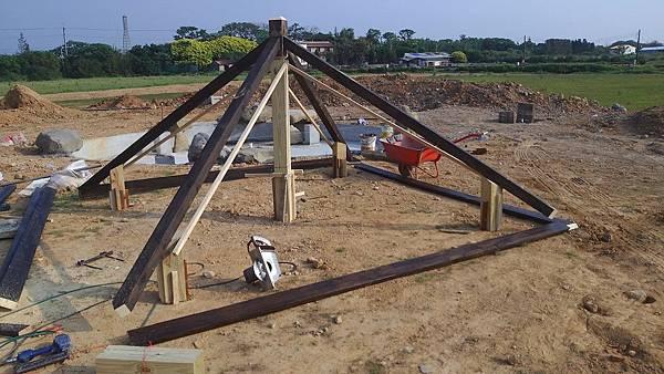 1030805桃園新屋3號咖啡館-木作景觀工程-施工中2.jpg