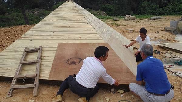 1030805桃園新屋3號咖啡館-木作景觀工程-施工中4.jpg