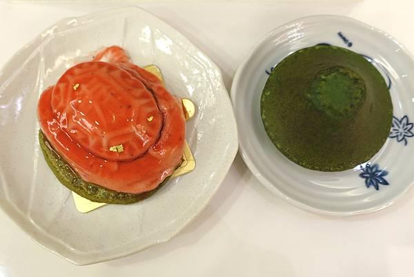 菓實日‧萬華甜點教主告訴你現代紅龜粿長這款~青山抹茶磅蛋糕也是驚喜!!!-雪花新聞