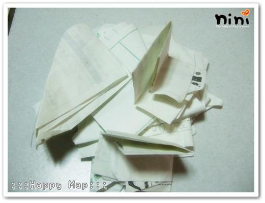 仔書包裡翻出的一大堆「廢紙」...