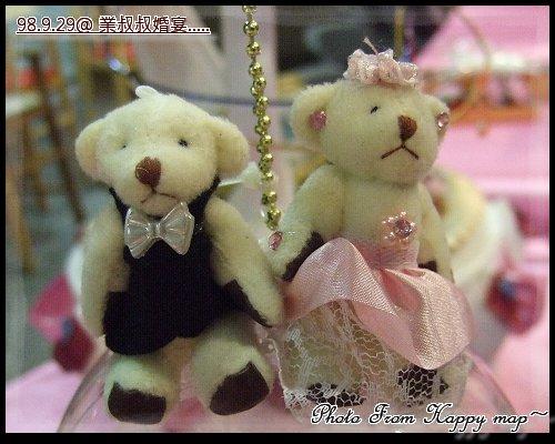 喜宴旁的「裝飾品」~可愛的熊之1