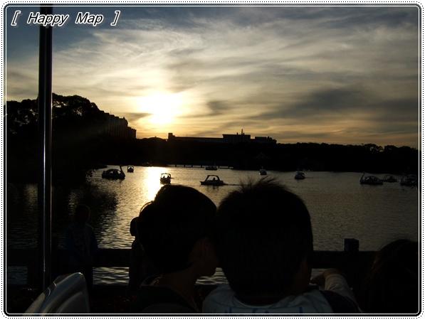 好浪漫的夕陽呀~