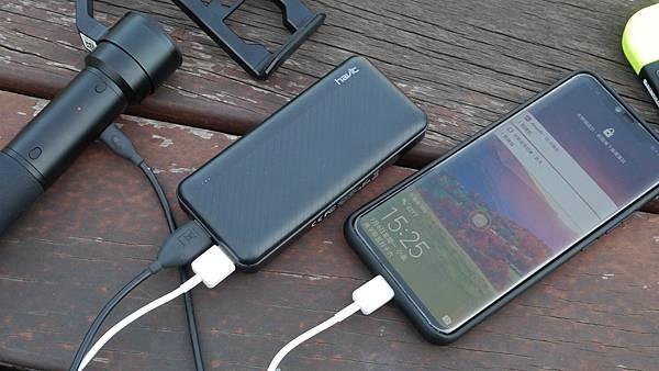 隨時隨充挺輕巧,讓你出門不用擔心電力問題【Havit 海威特】雙USB輸出行動電源H584 - 8