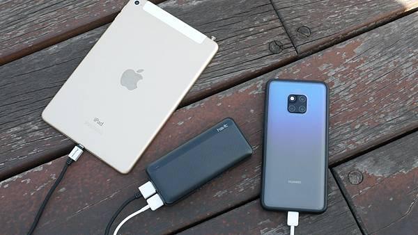 隨時隨充挺輕巧,讓你出門不用擔心電力問題【Havit 海威特】雙USB輸出行動電源H584 - 9