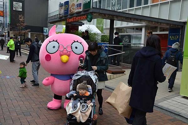 日本人真的好會用吉祥物