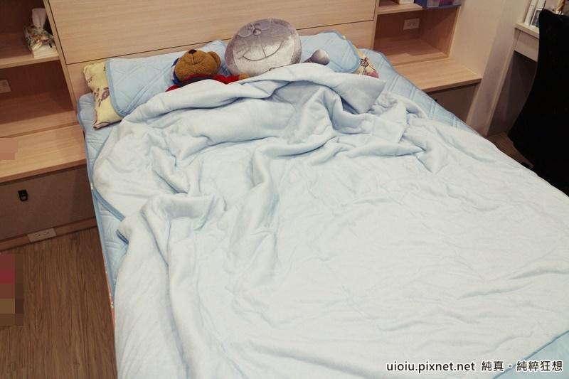 宜得利 N Cool涼被+枕頭保潔墊+床墊保潔墊之寢具組012.JPG