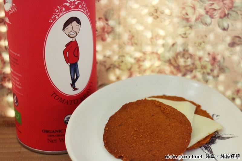食好覓 蕃茄餅乾.有機茶012.JPG