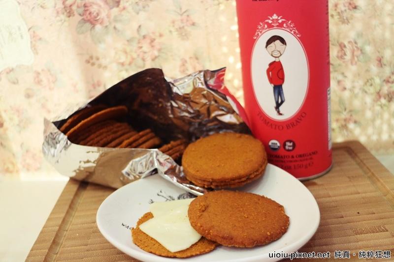 食好覓 蕃茄餅乾.有機茶015.JPG