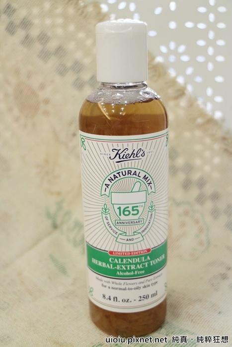 kiehl's冰河醣蛋白保濕霜.金盞花植物精華化妝水002.JPG