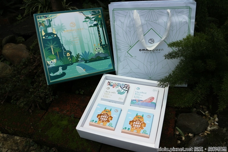 歐米綠手工皂禮盒-過年禮盒推薦
