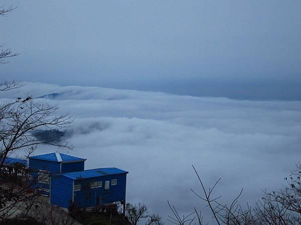 烏嘎彥前的雲海
