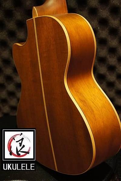 阿浪老師烏克麗麗-美國品牌KALA-KOA相思木缺角8弦烏克_004.jpg