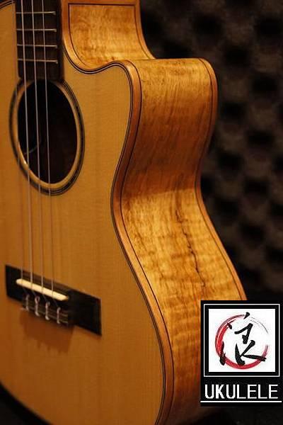 阿浪老師烏克麗麗-美國品牌KALA-玫紋楓木全單板高級琴_006.jpg