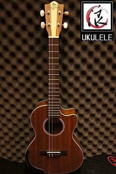 阿浪老師烏克麗麗台灣品牌KOYAMA-雙色琴頭插電缺角26吋_001.jpg