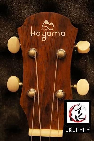 阿浪老師烏克麗麗KOYAMA限量款-日本富士山相思木全單板_001.jpg
