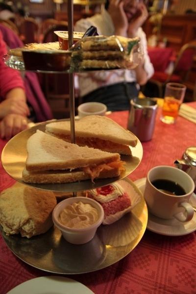 Glasgow某家Tearoom