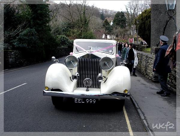 勞斯萊斯的婚禮禮車