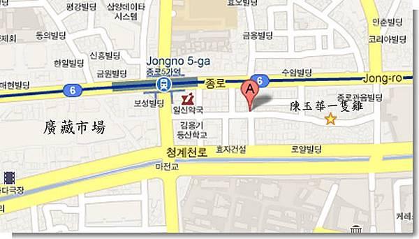 서울시 종로구 종로5가 - Google 地圖 (1)