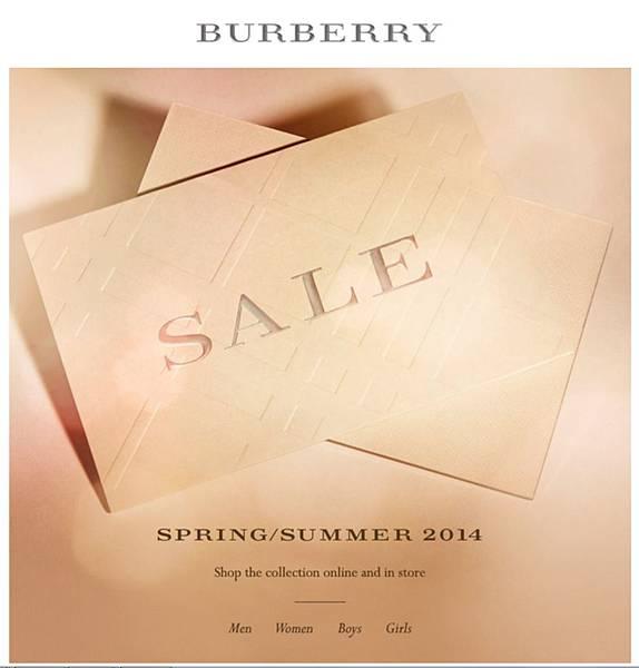 Burberry打折