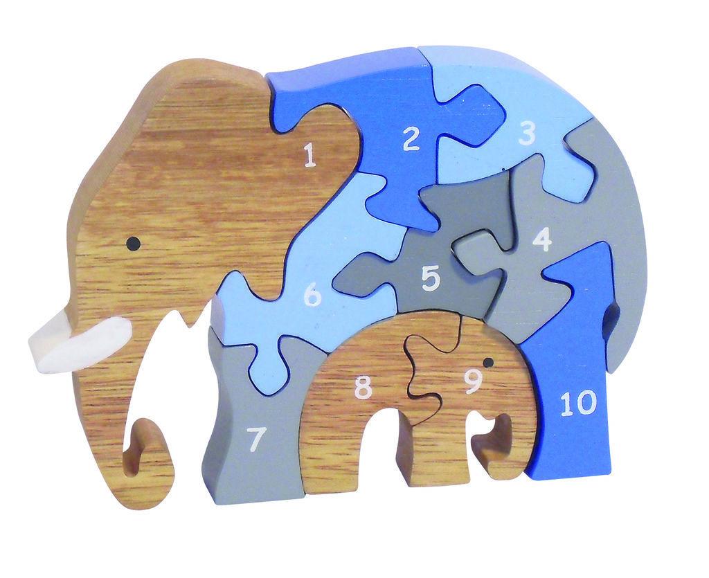 C6364 - 12.475 - Number Elephant