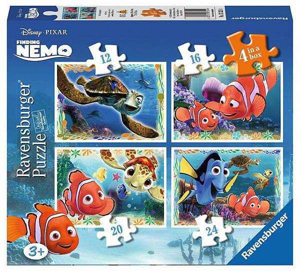 07321_Disney Finding Nemo 4 in Box