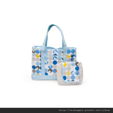 NurseryBag Sil-Blue 120209-8I8332