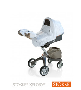 stokke xplory winter kit white