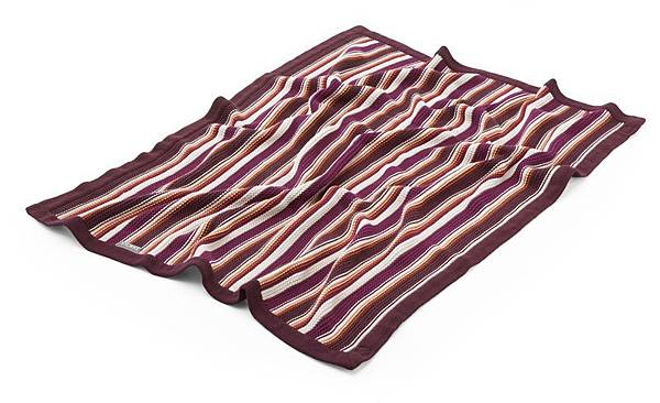 Stokke Stroller Blanket Purple-Orange 130404-8I6374
