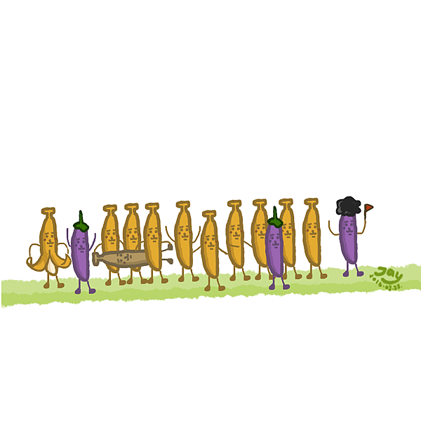 香蕉大家族系列