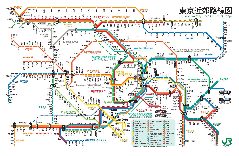 東京近郊 JR 路線図 - jasf.org