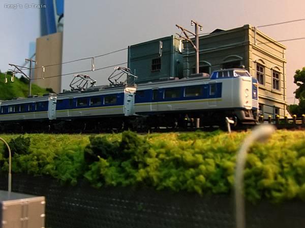 Feng's B-Train 自製架線柱電線