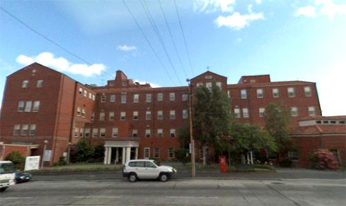 Calvary Hospital, Hobart, Tasmania, Australia.