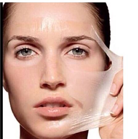 透明式面膜
