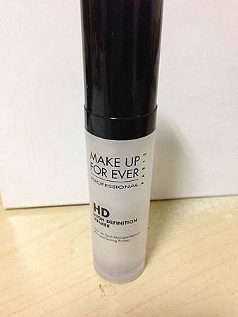Make up forever HD 亮晰潤色隔離霜