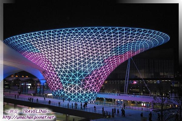 世博文化中心看夜景-世博軸-4.jpg