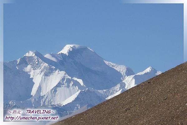 遮古拉山口-世界屋脊在眼前_12-卓奧友峰