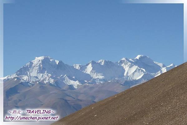 遮古拉山口-世界屋脊在眼前_13-卓奧友峰