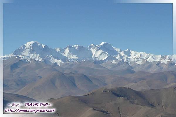 遮古拉山腰-看世界級雪峰_1-卓奧友峰